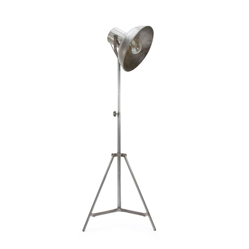 Vloerlamp Factory - Grijs - Metaal
