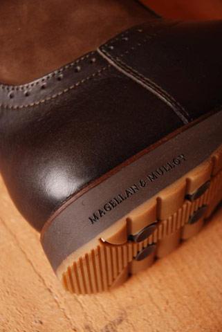 Dameslaars Broque Choc leather