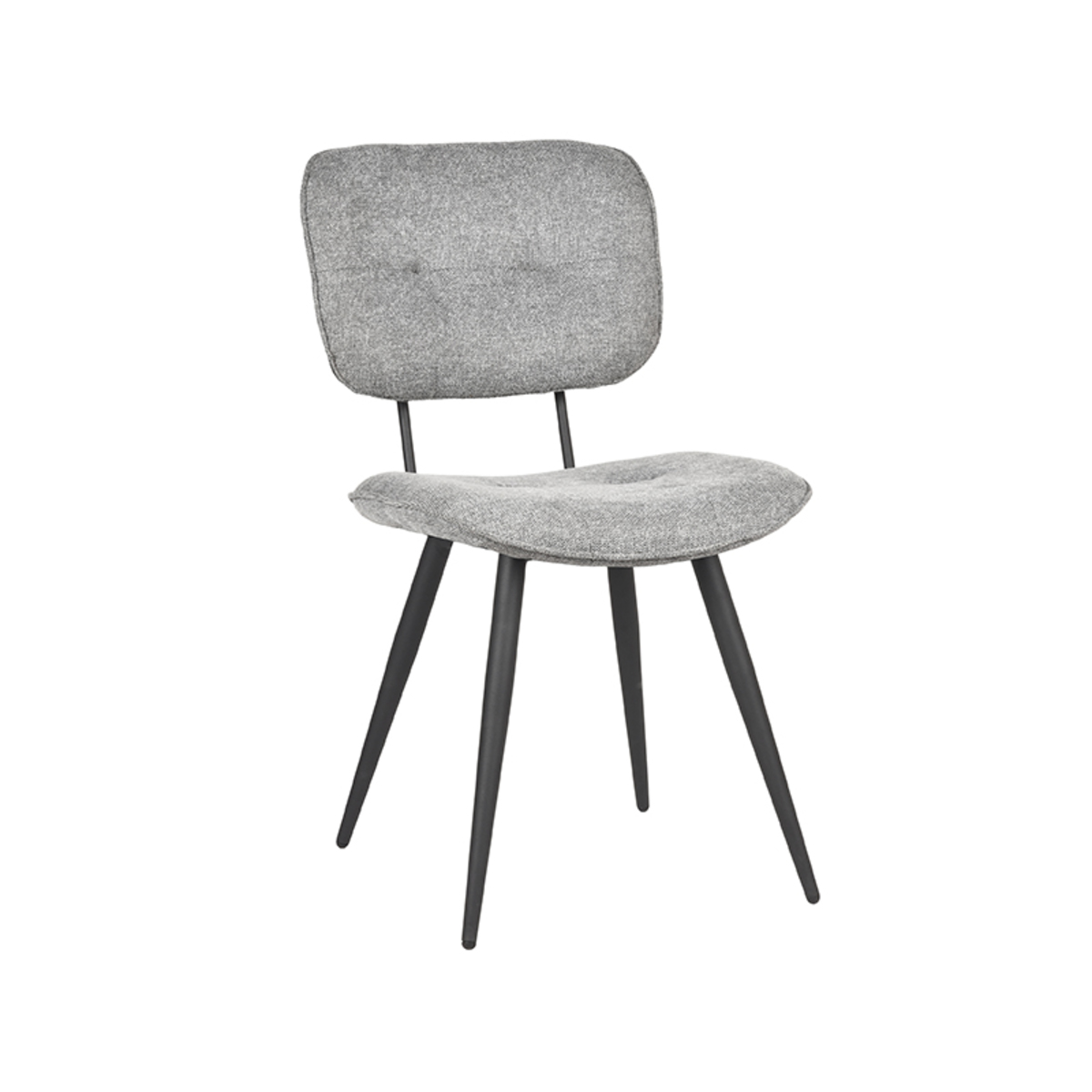 Eetkamerstoel Lux - Zinc - Weave