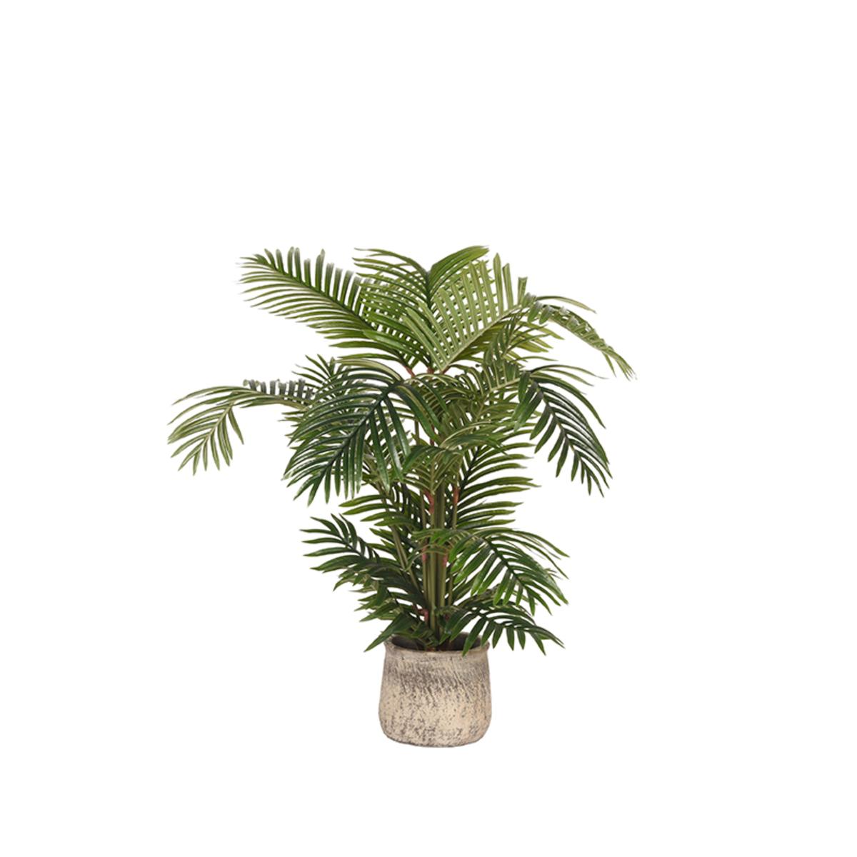 Artificial Plants Areca Palm - Groen - Kunststof - 110