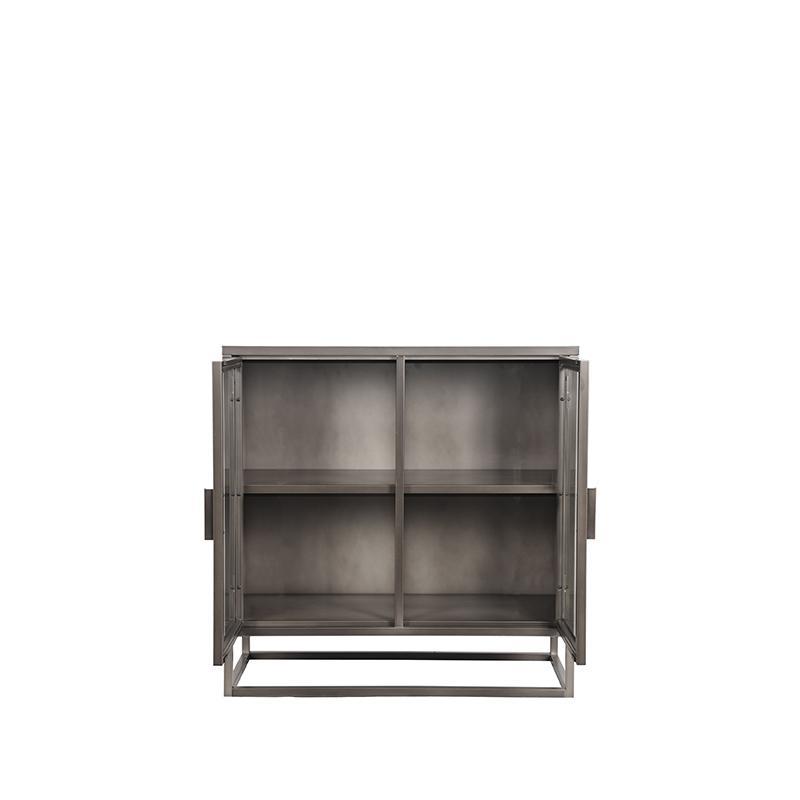 Vitrinekast Level - Vintage Metaal - Metaal - 85x40x85 cm