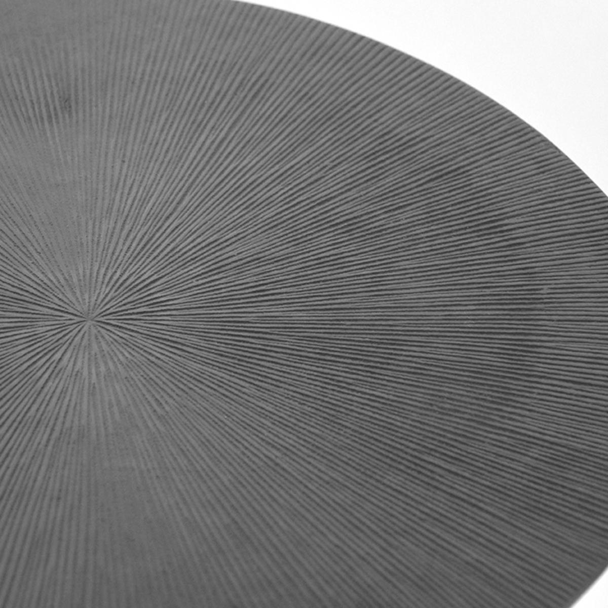 Salontafel Nobby - Grijs - Metaal - 50 cm