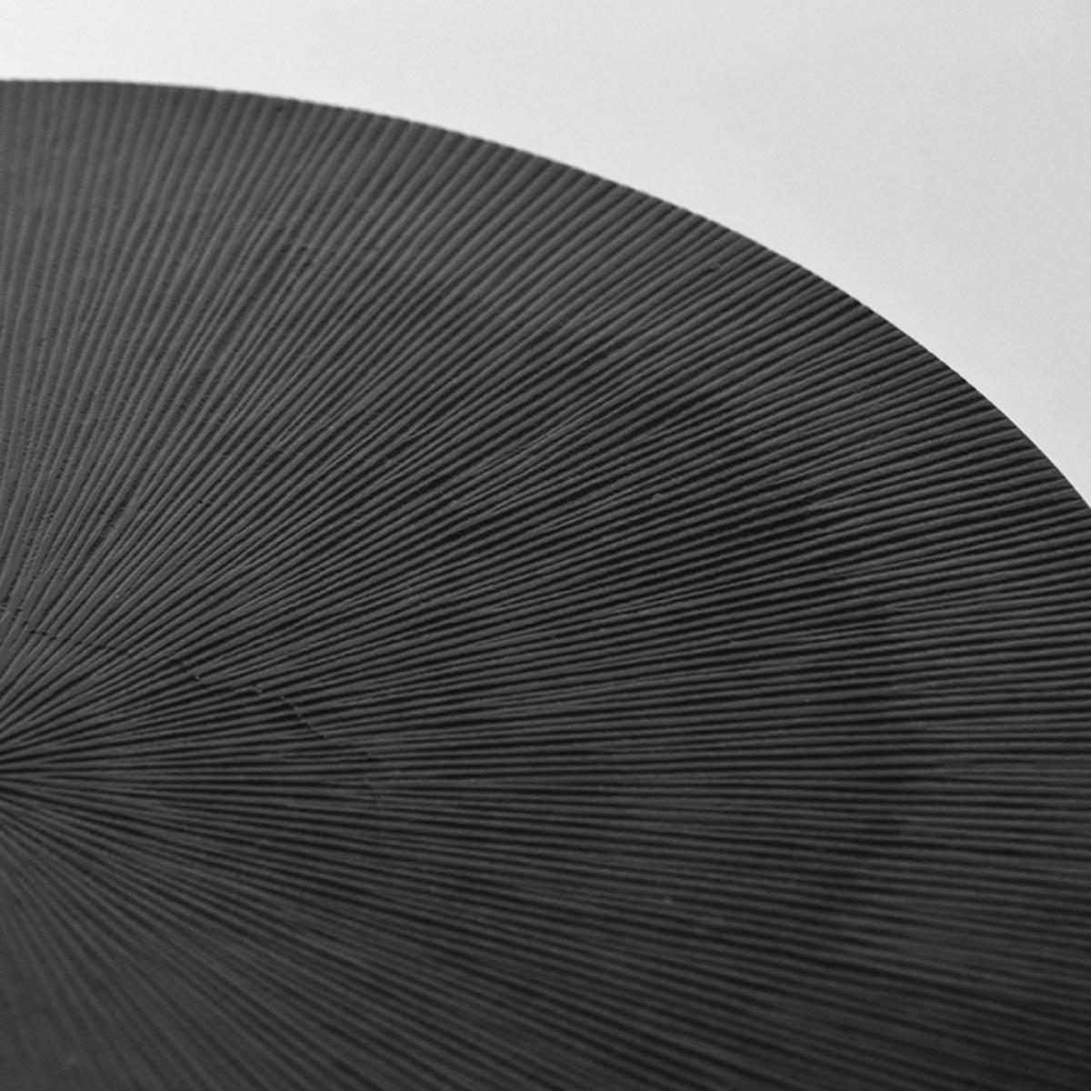 Salontafel Nobby - Zwart - Metaal - 50 cm