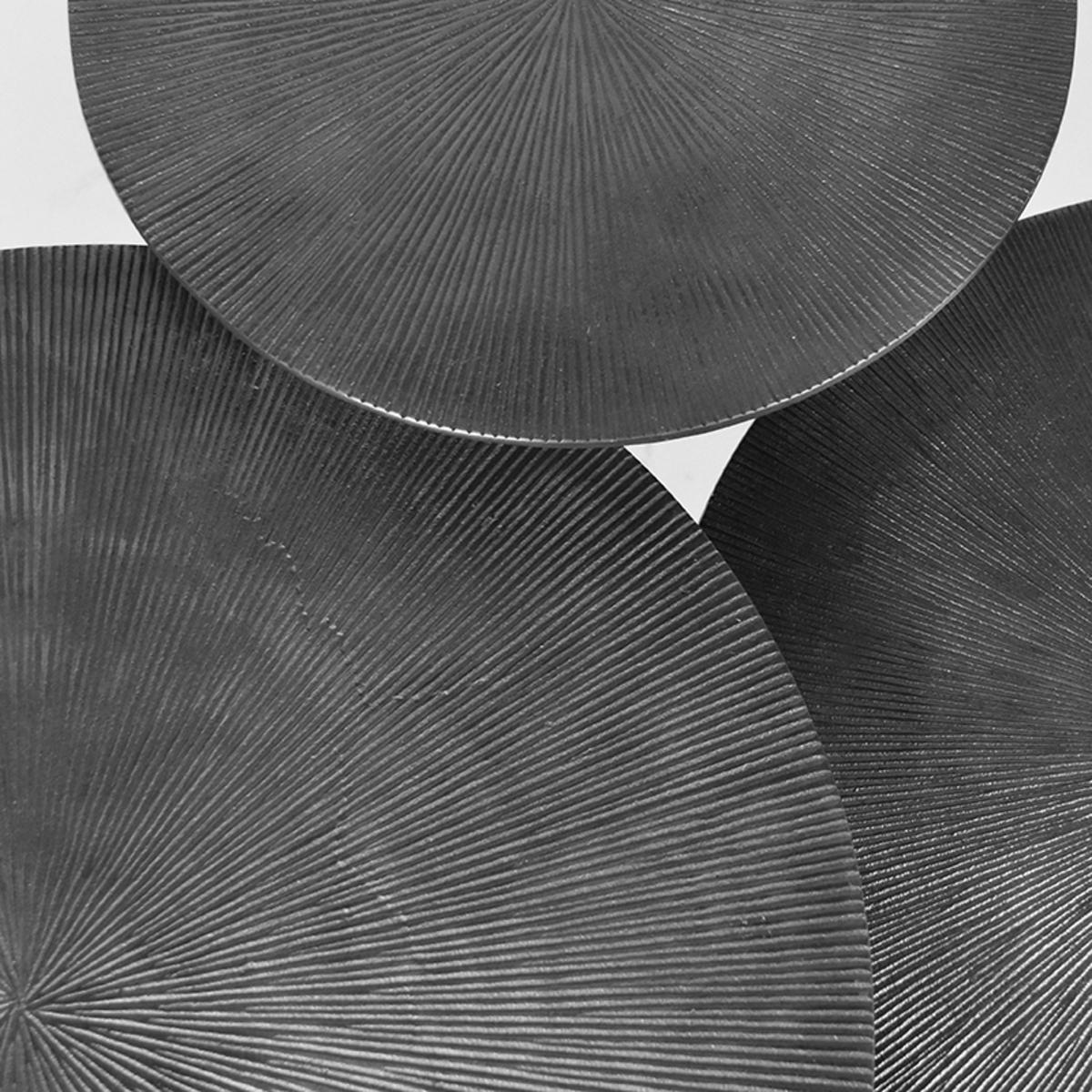 Salontafel Set Nobby - Grijs - Metaal - 60 cm