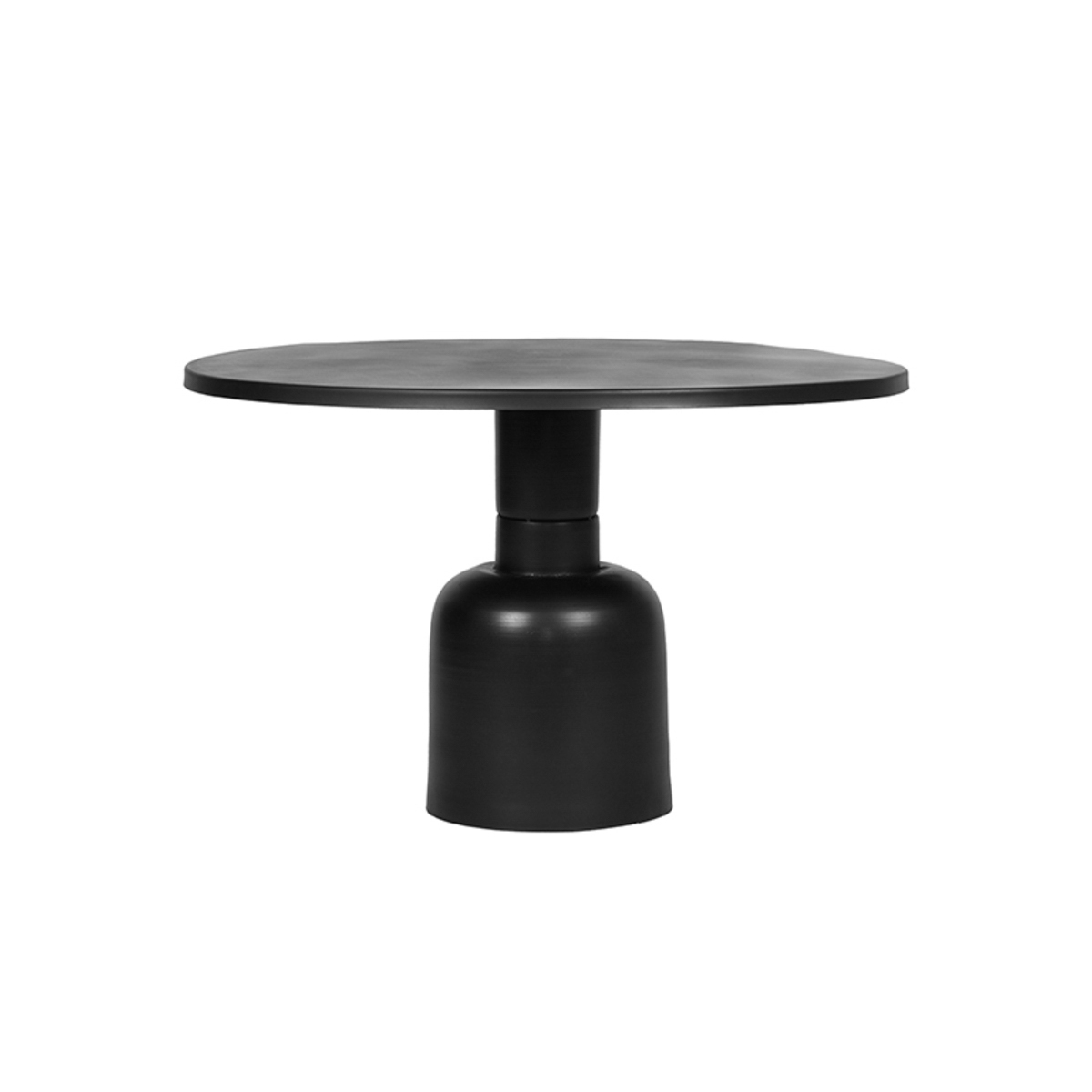 Salontafel Wink 70x70x46 cm - Zwart - Metaal