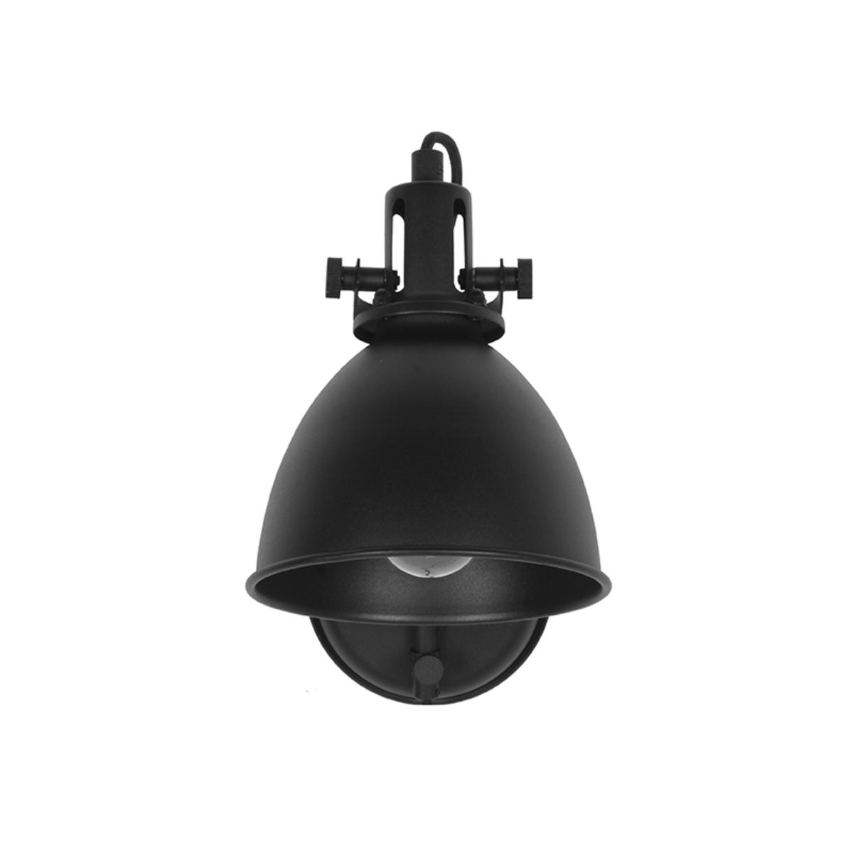 Wandlamp Spot - Zwart - Metaal