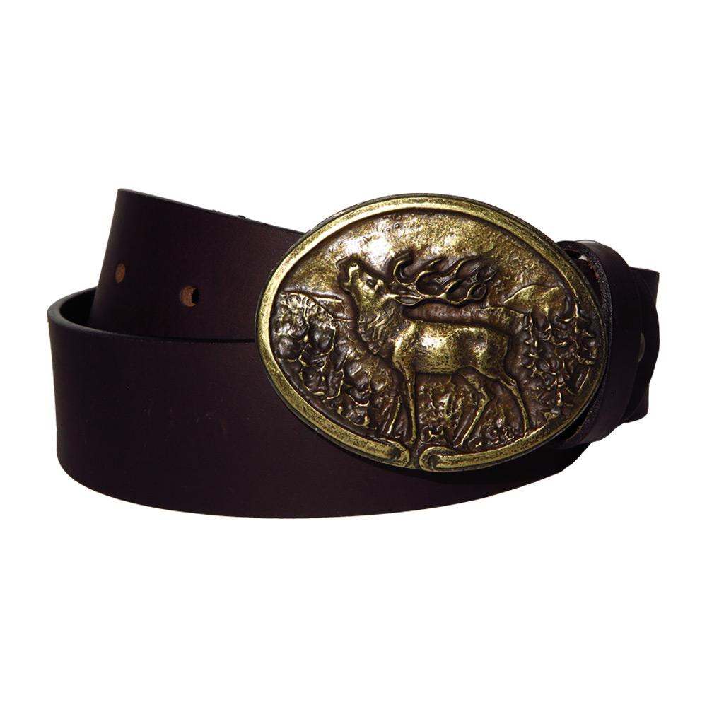Akah leather belt hert