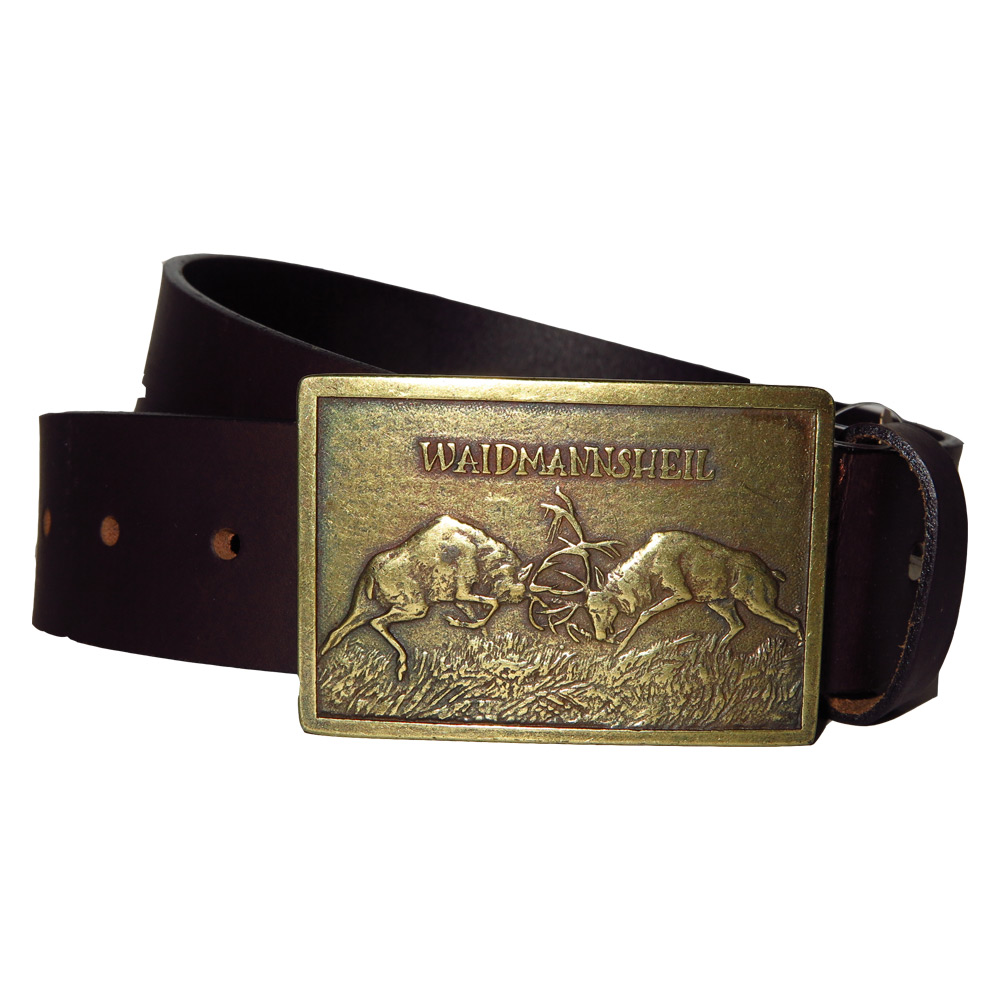 Akah Leather belt herten