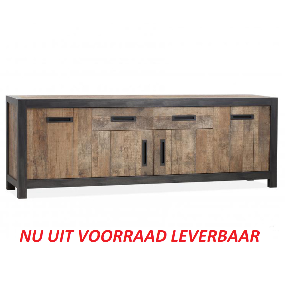 Amersfoort dressoir 4 deuren en 2 laden