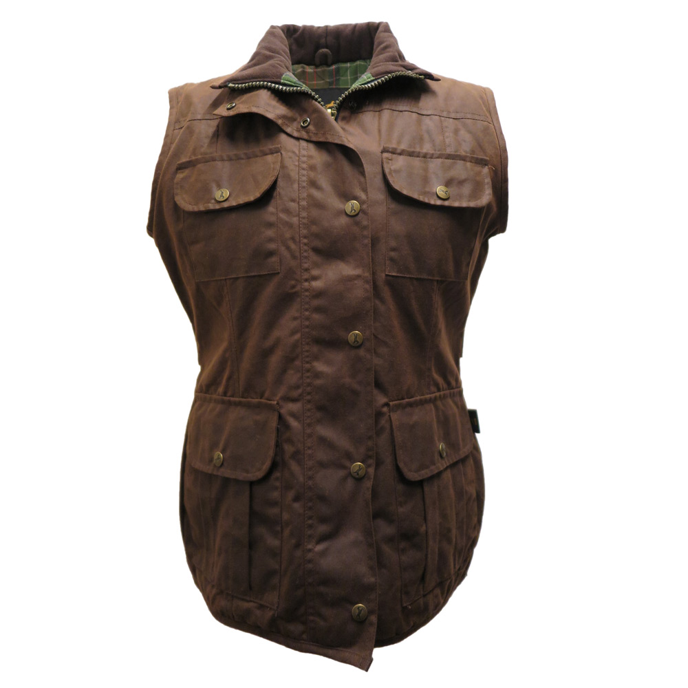 Aviemore Wax gilet Brown