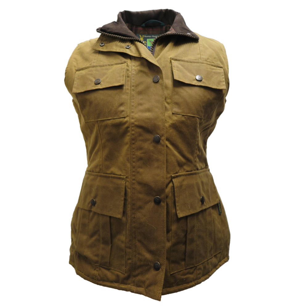 Aviemore Wax gilet Tan