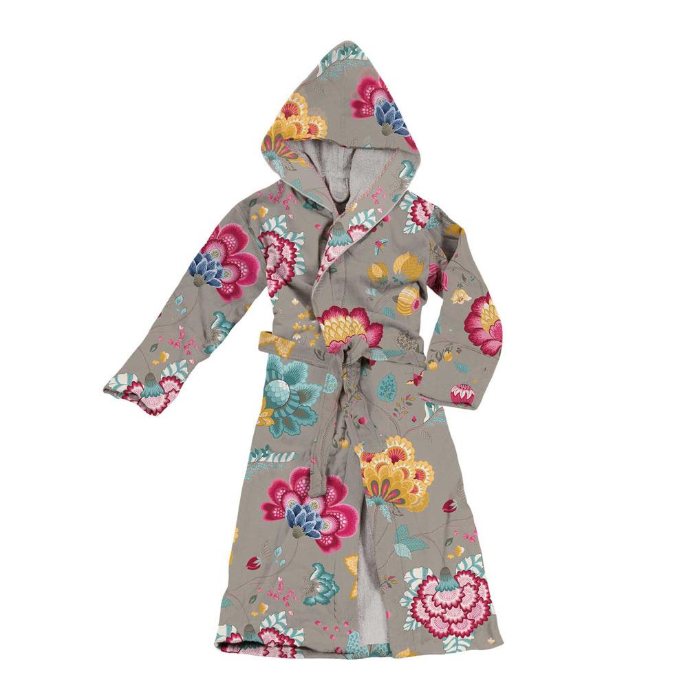 Badjas Floral fantasy Khaki