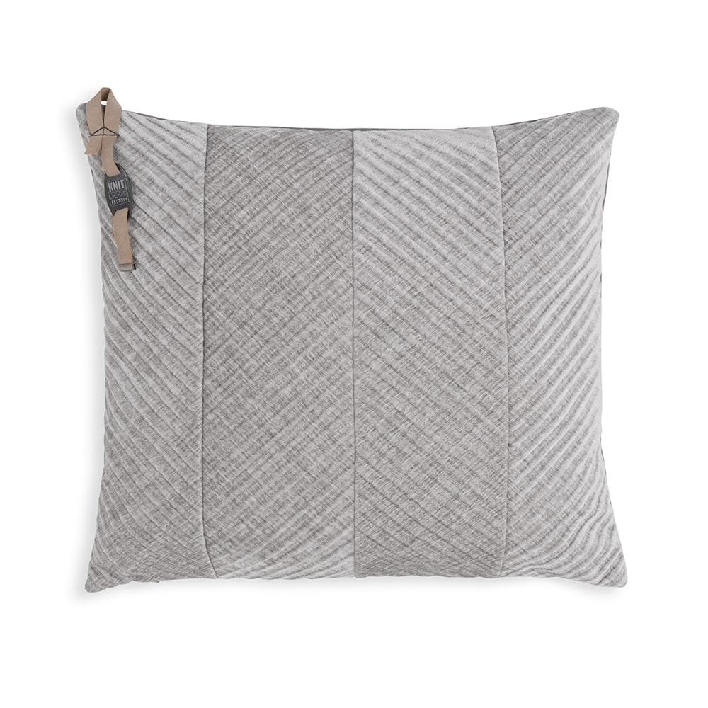 Beau kussen licht grijs 50 x 50