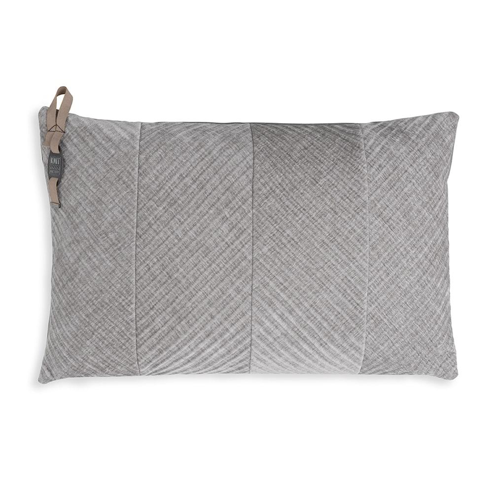Beau kussen licht grijs 60 x 40