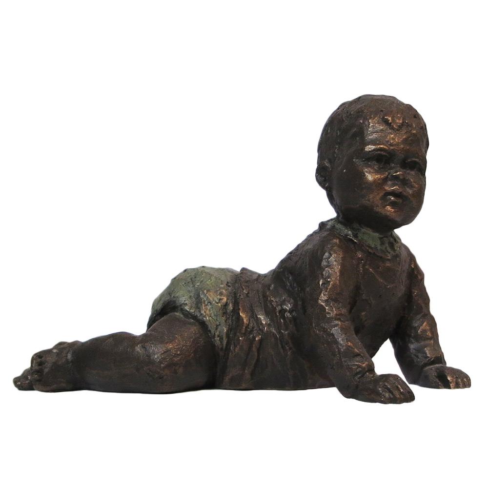 Beeld Baby kruipend