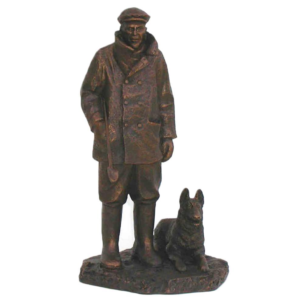 Beeld Schaapsherder met hond