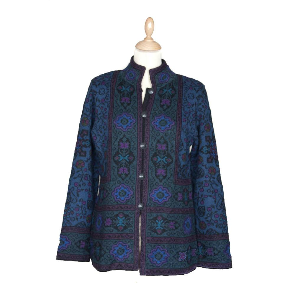 Bohema Long Cardigan Blue