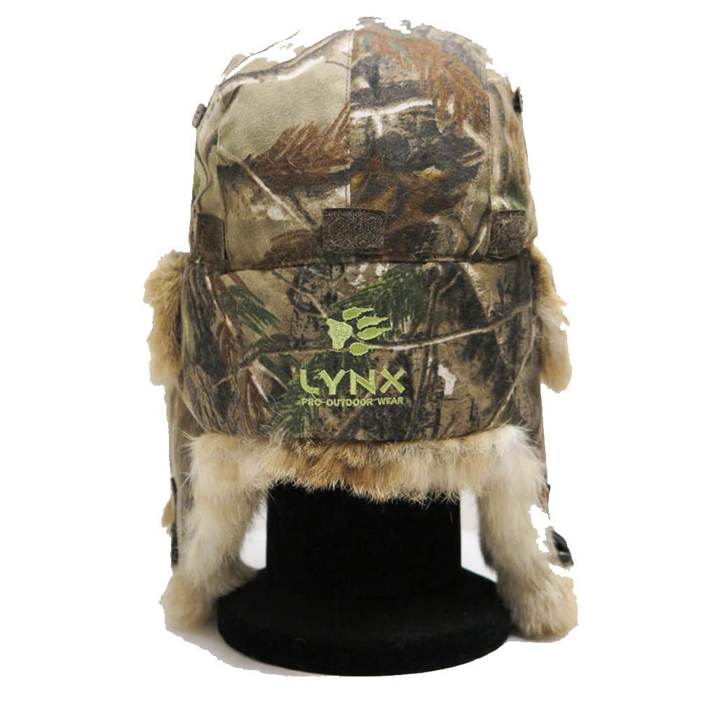 Bontmuts lynx camouflage