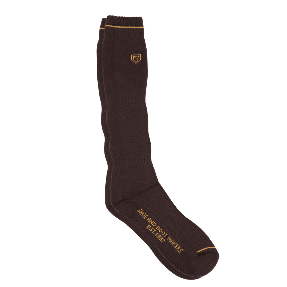 Boot Socks Long brown