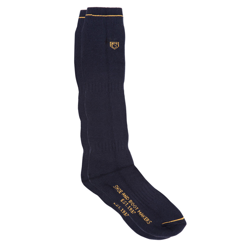Boot Socks Long navy