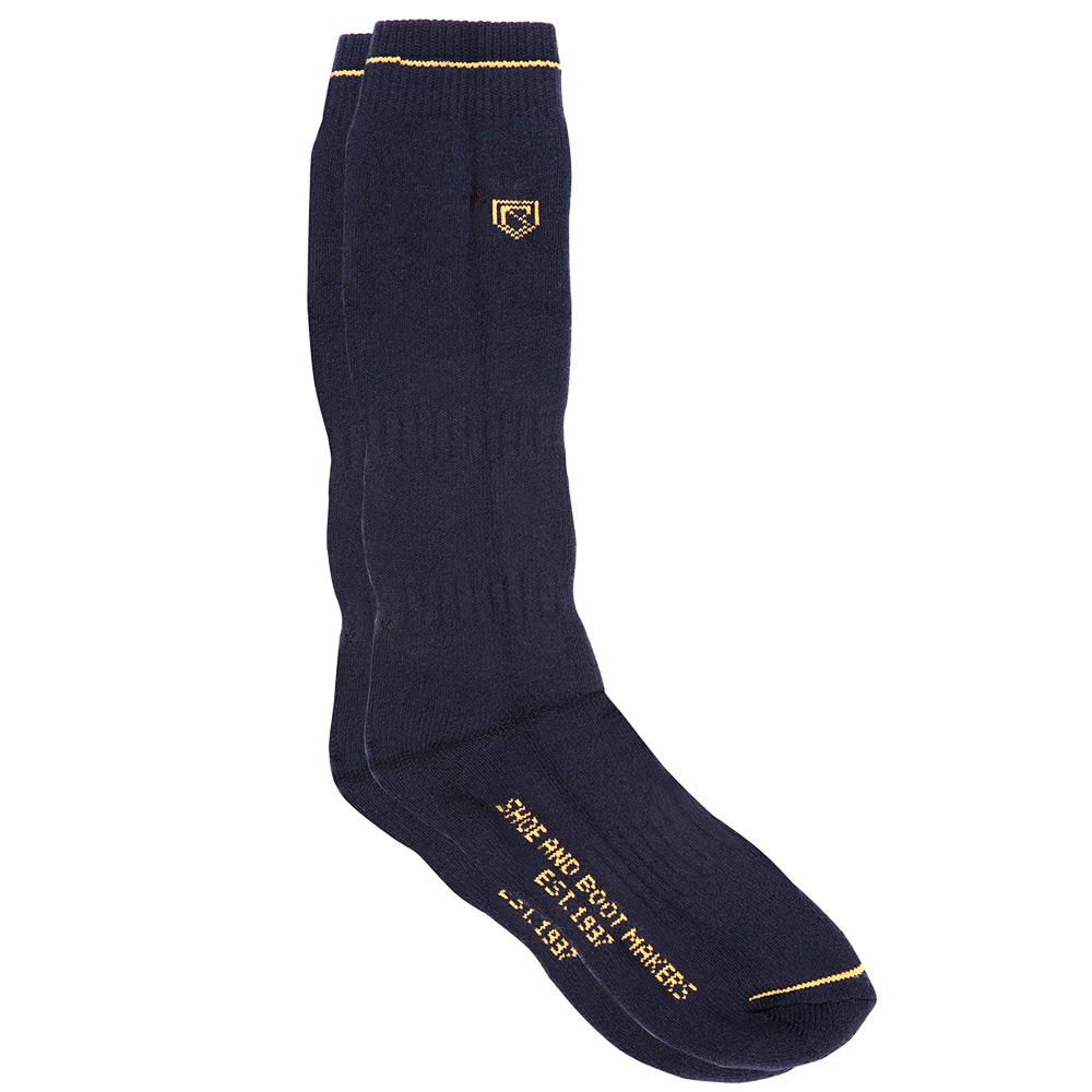 Boot Socks Short navy