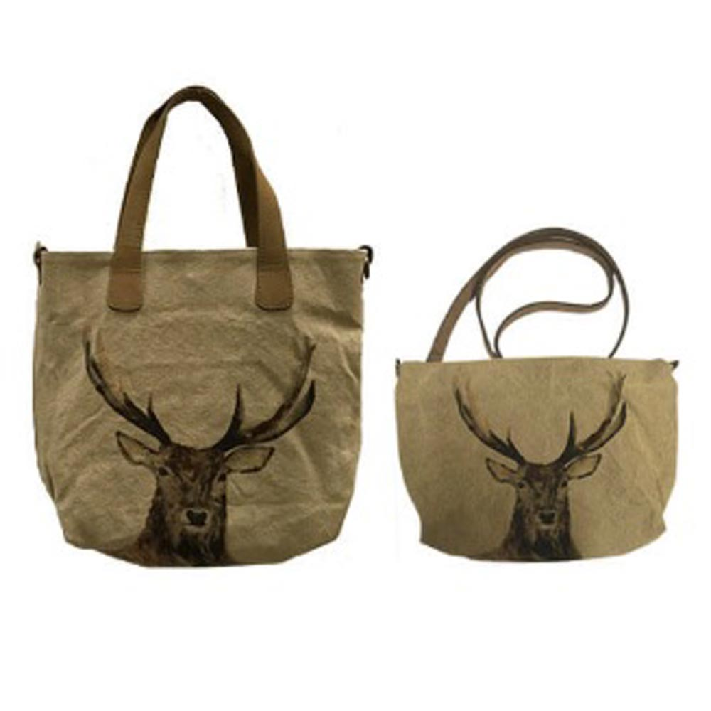 Canvas tas set rendier