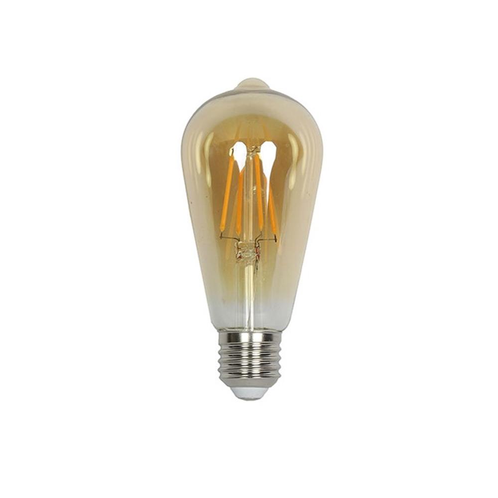 Lamp filament LED DIM Edison goud 2