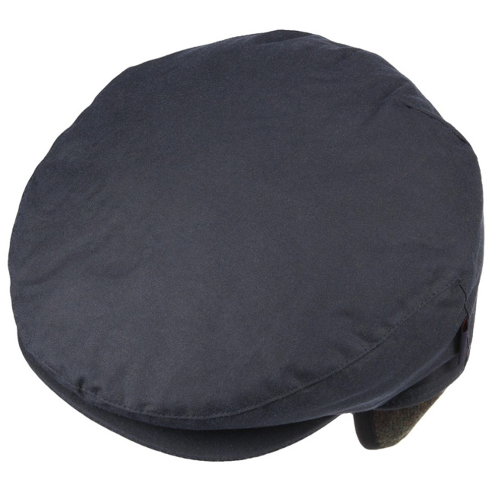 Cheviot Tartan Cap Navy
