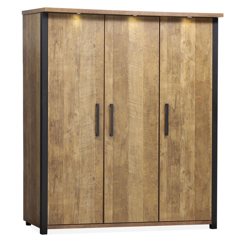 Chigago linnenkast 3 deurs
