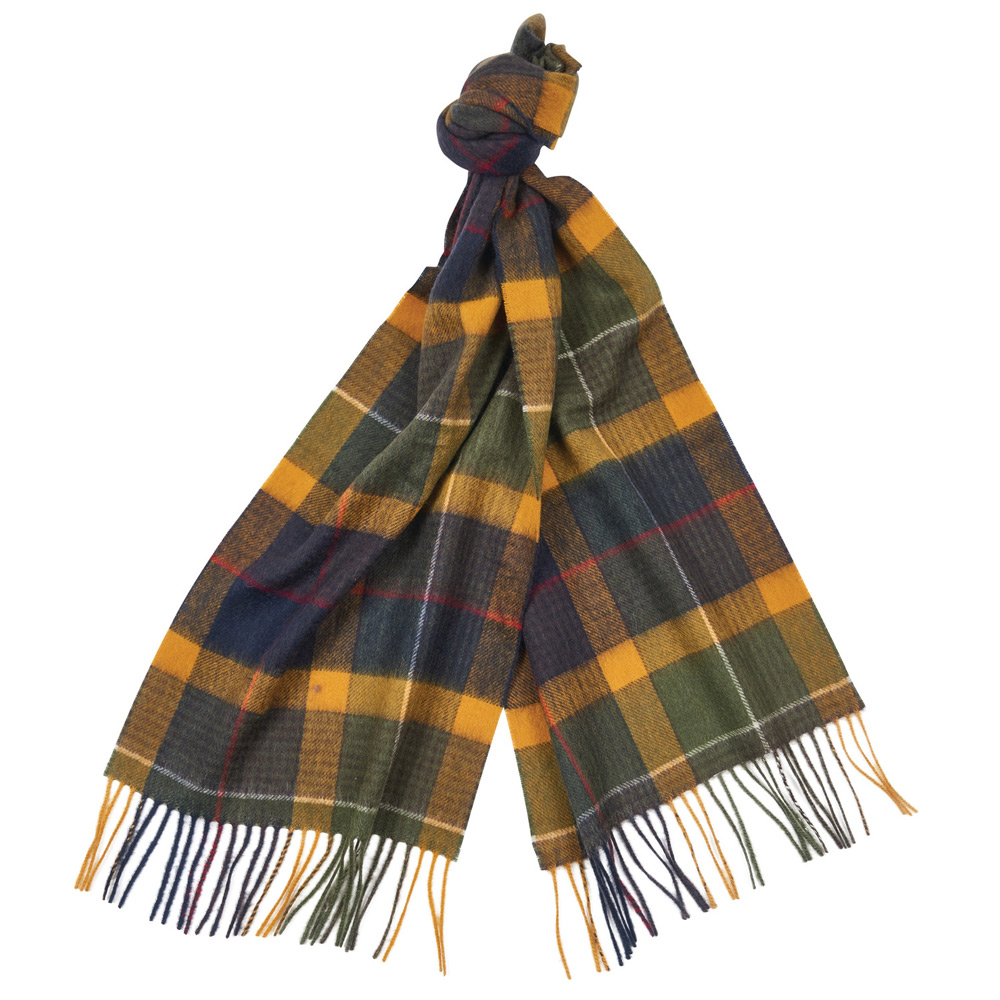 Classic tartan Monsal scarf