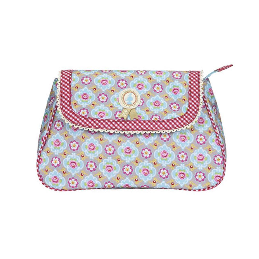 Cosmeticbag+flap M Khaki