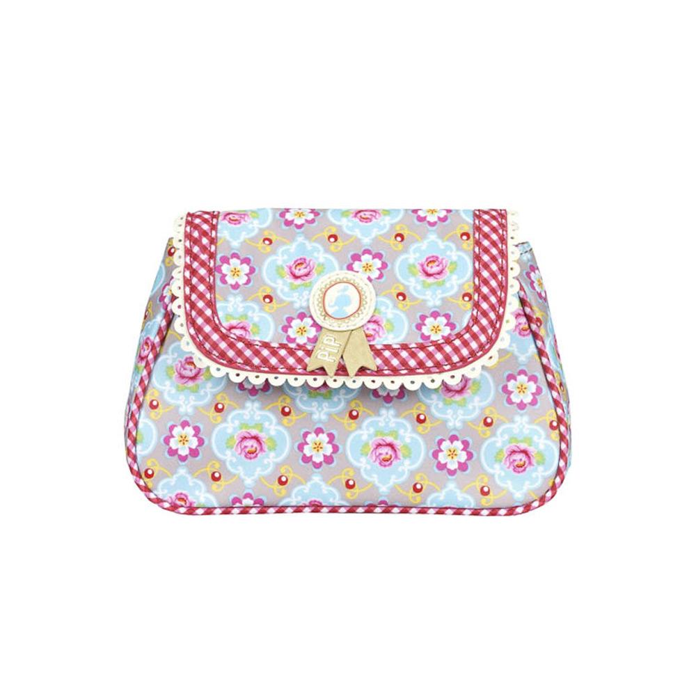 Cosmeticbag+flap XS Khaki