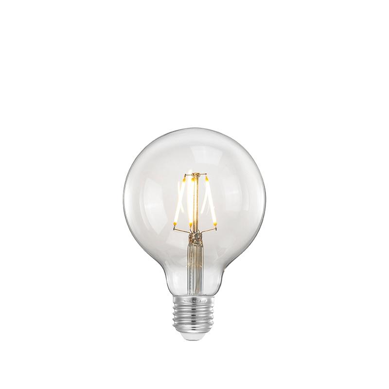 Lichtbron Daglicht Led Kooldraadlamp Bol - Glas - L