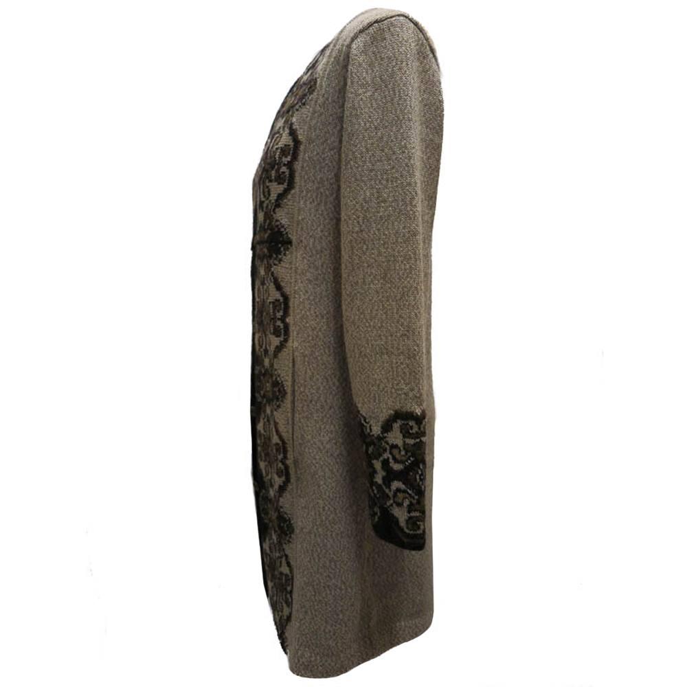 Damask (long) coat 4014A