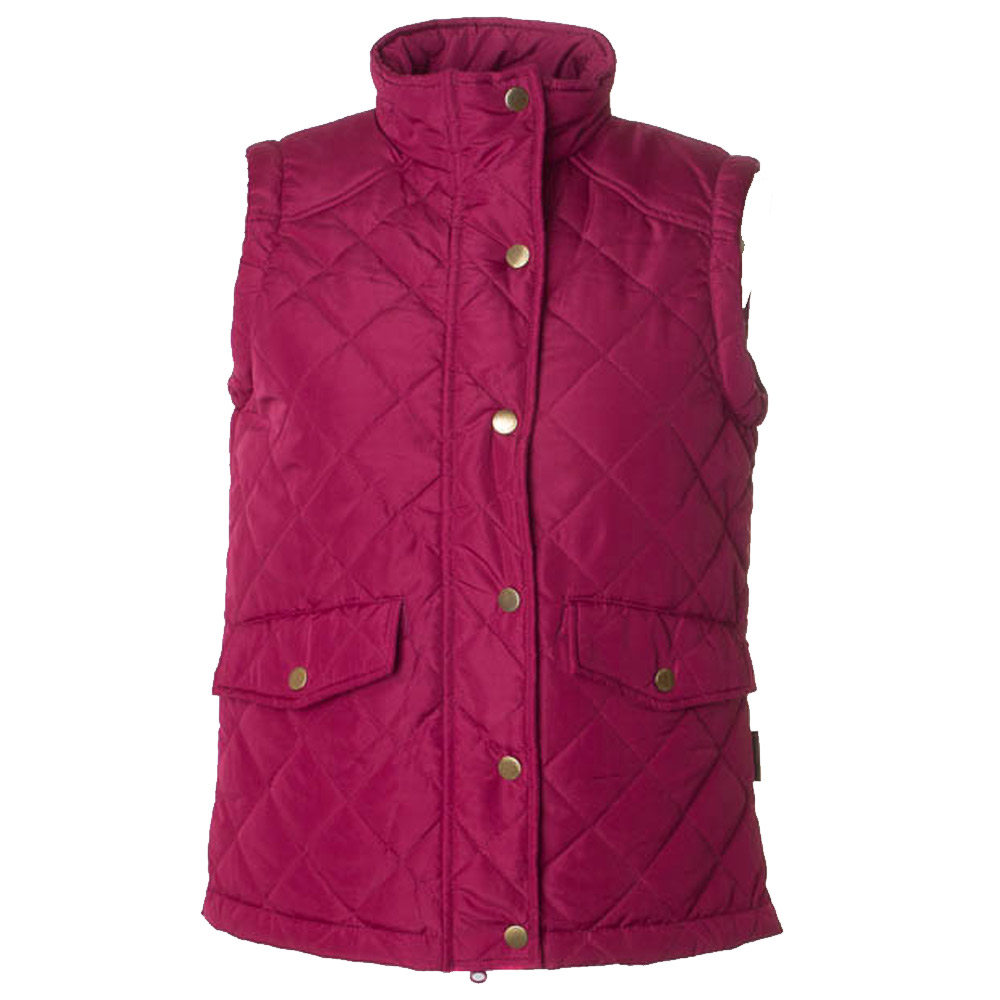 Dames Bodywarmer Clare mulberry