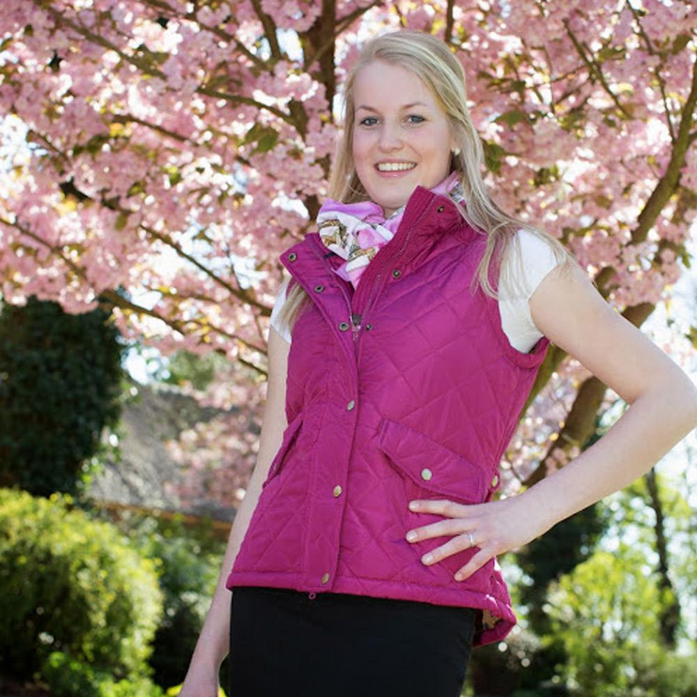 Dames Bodywarmer Clare Pink