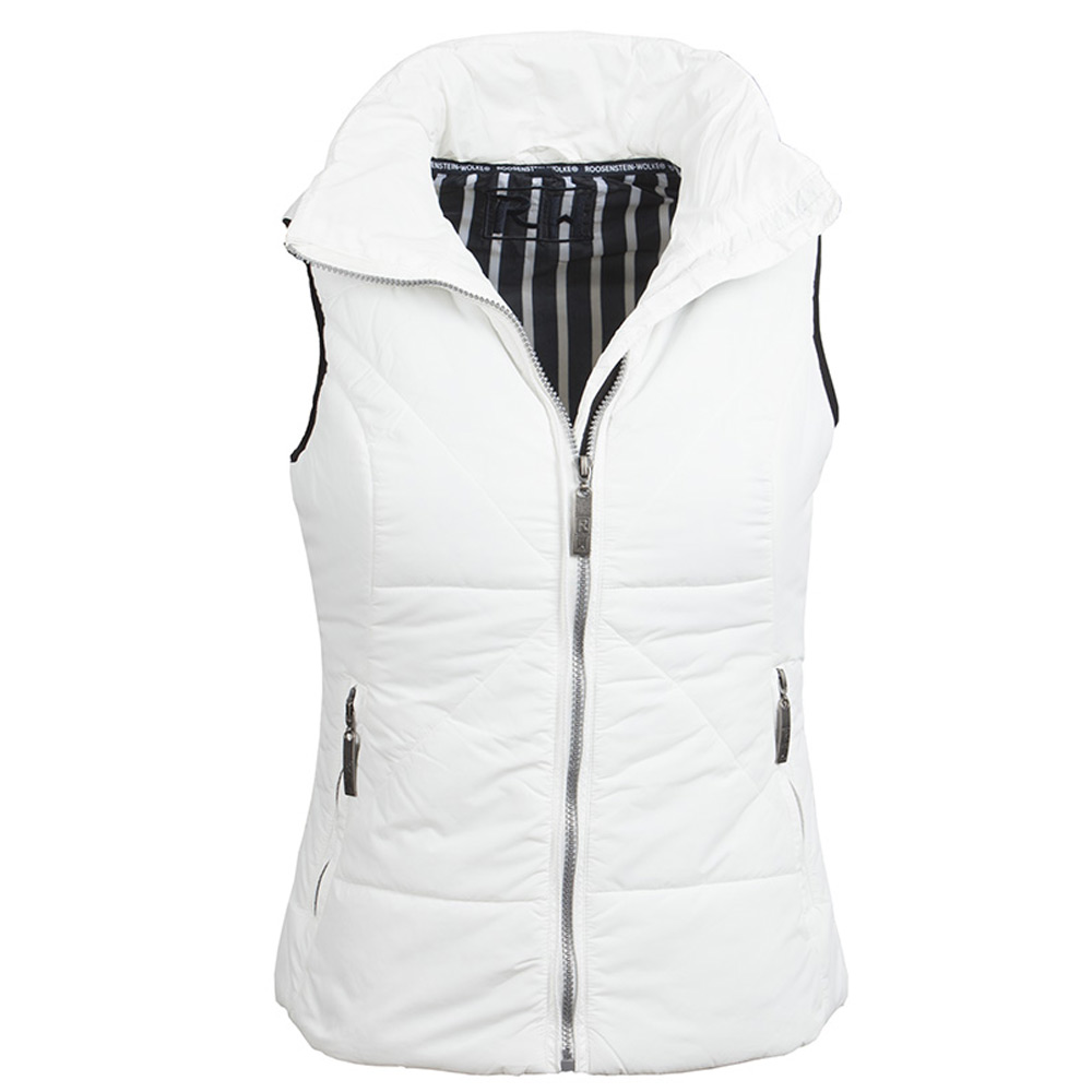 Dames Bodywarmer Season Wit