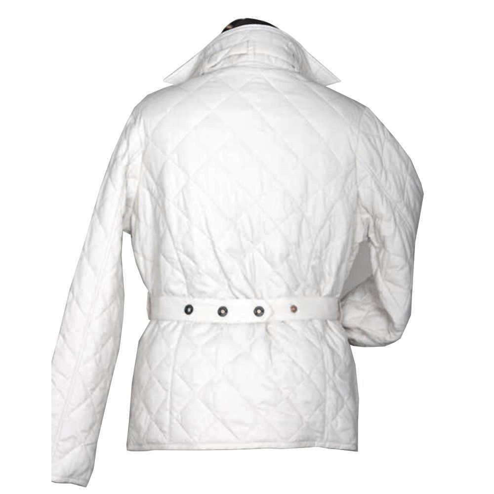 Dames quiltjas Despatch white