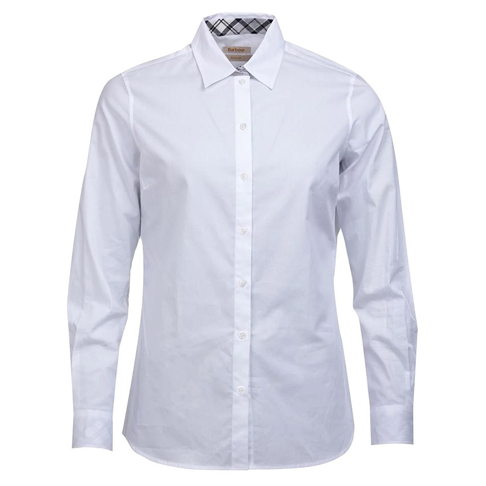 Damesblouse Derwent White