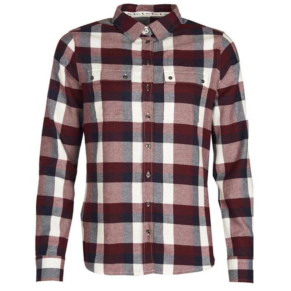 Damesblouse Dovedale Shirt Aubergine