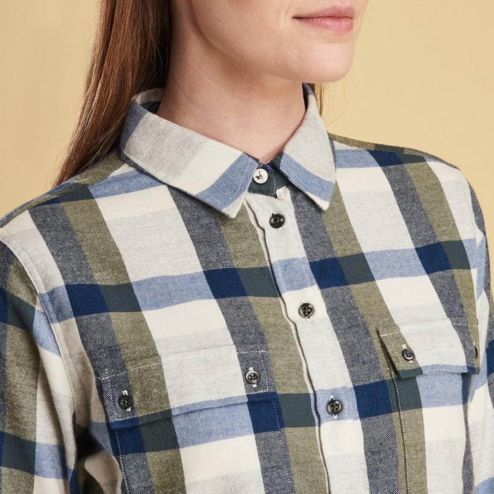Damesblouse Dovedale Shirt Olive