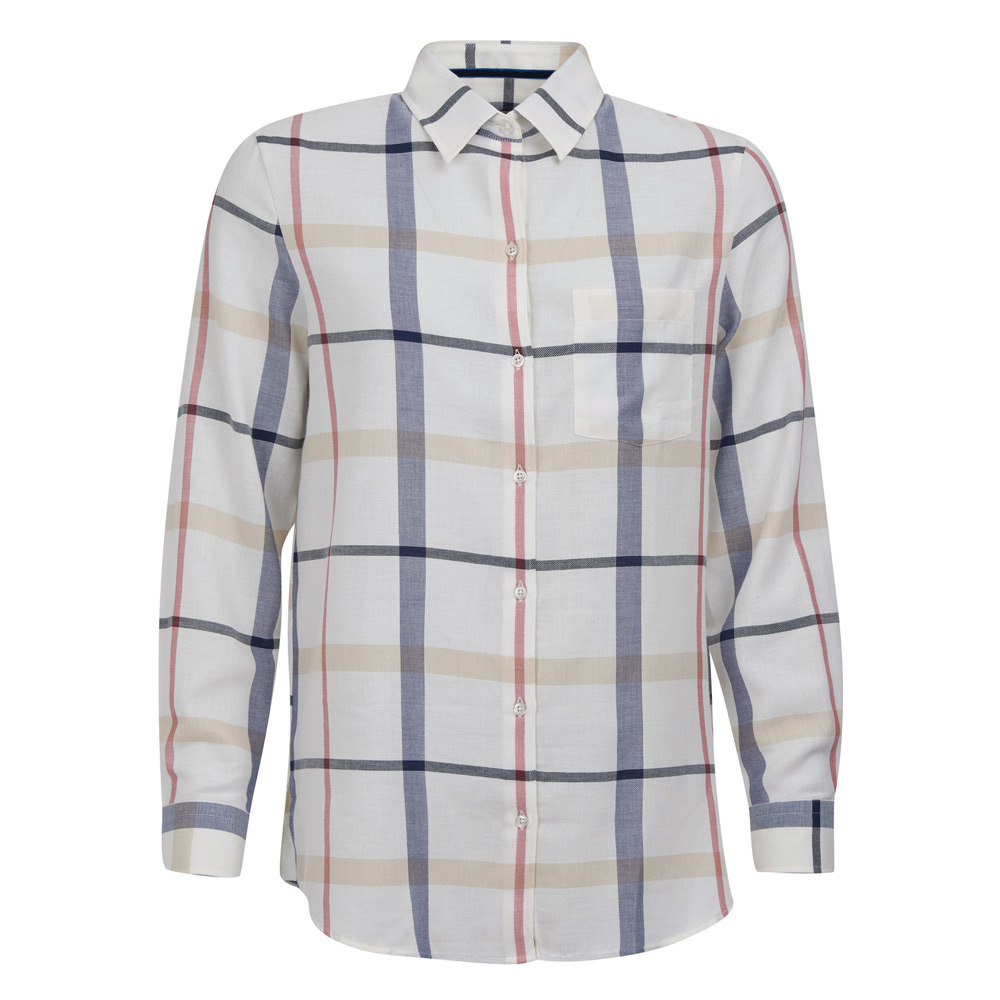 Damesblouse Oxer Check cloud