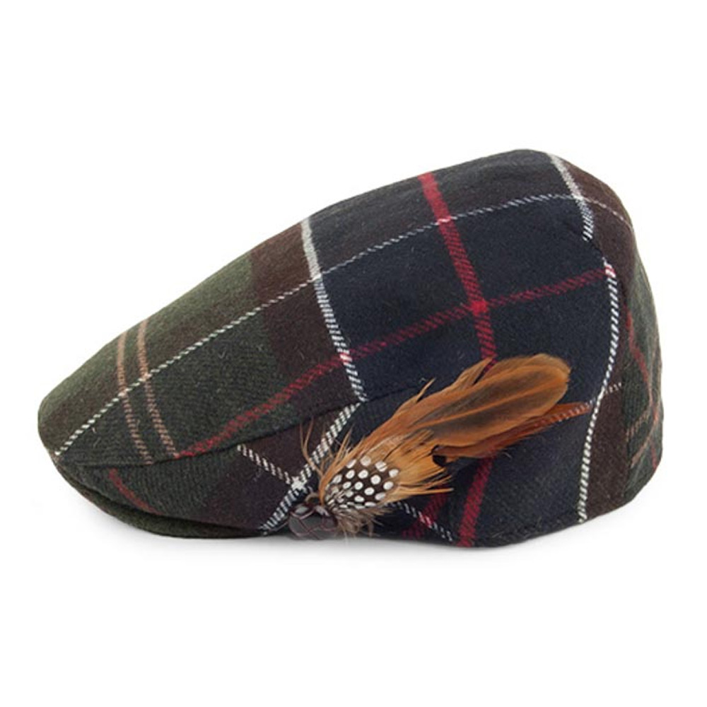 Dameshoed Tartan Wool Classic cap