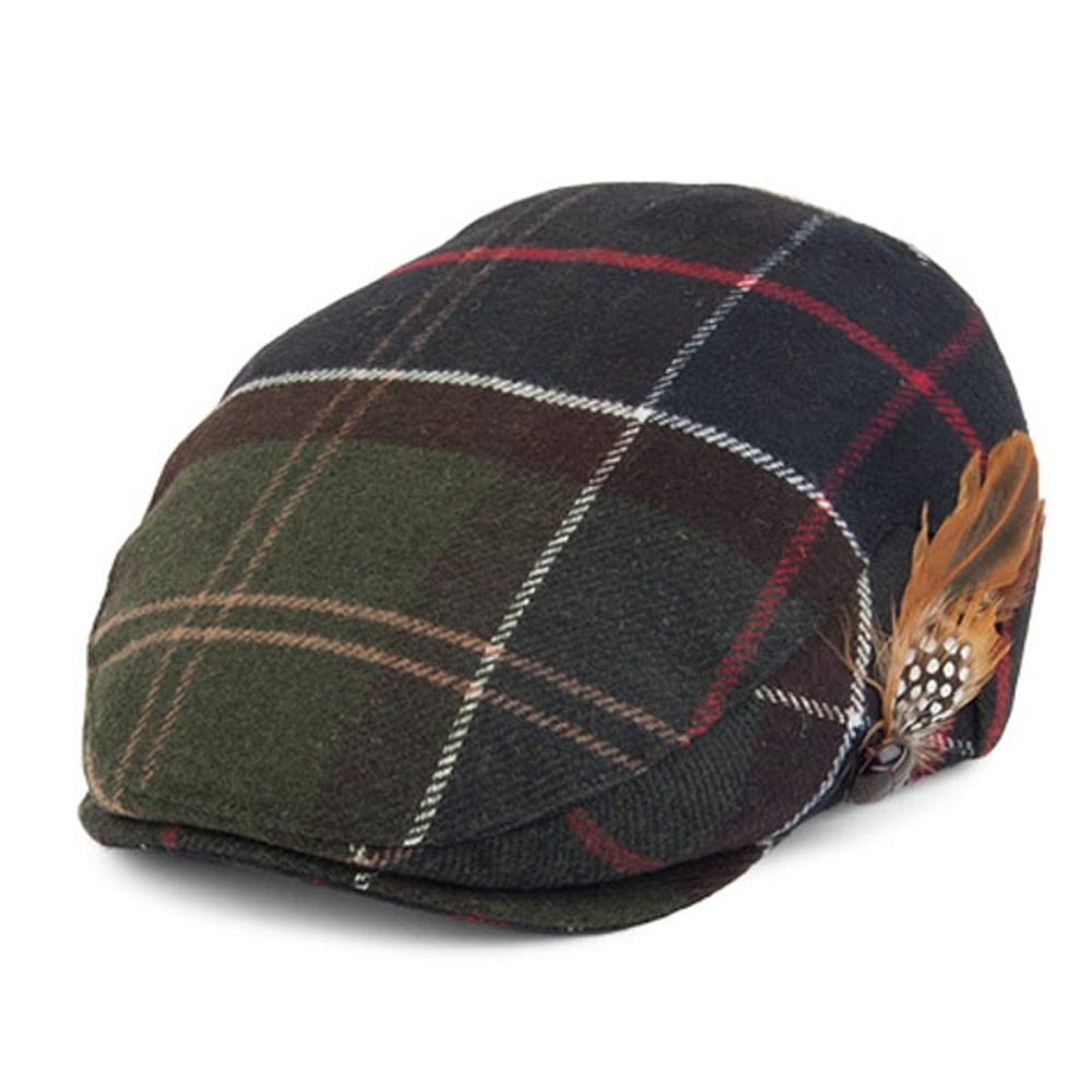 Dameshoed Tartan Wool Classic cap