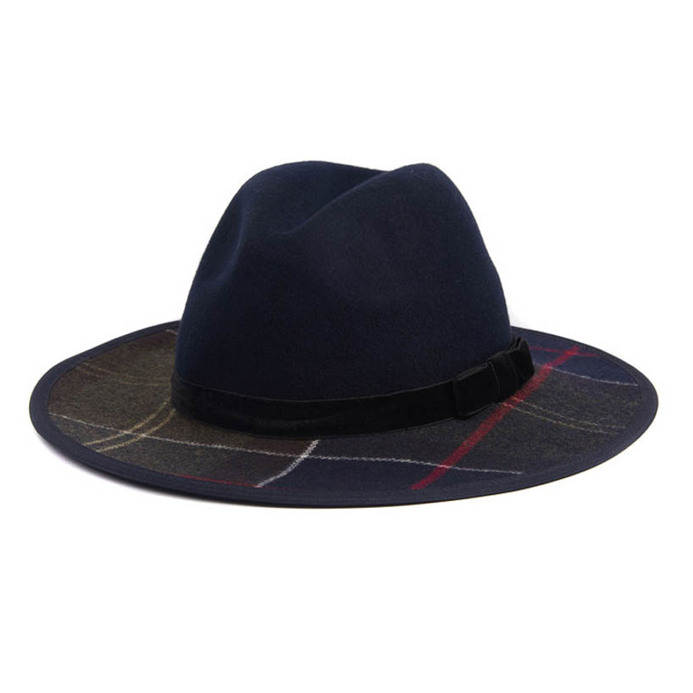 Dameshoed Thornhill Fedora Navy