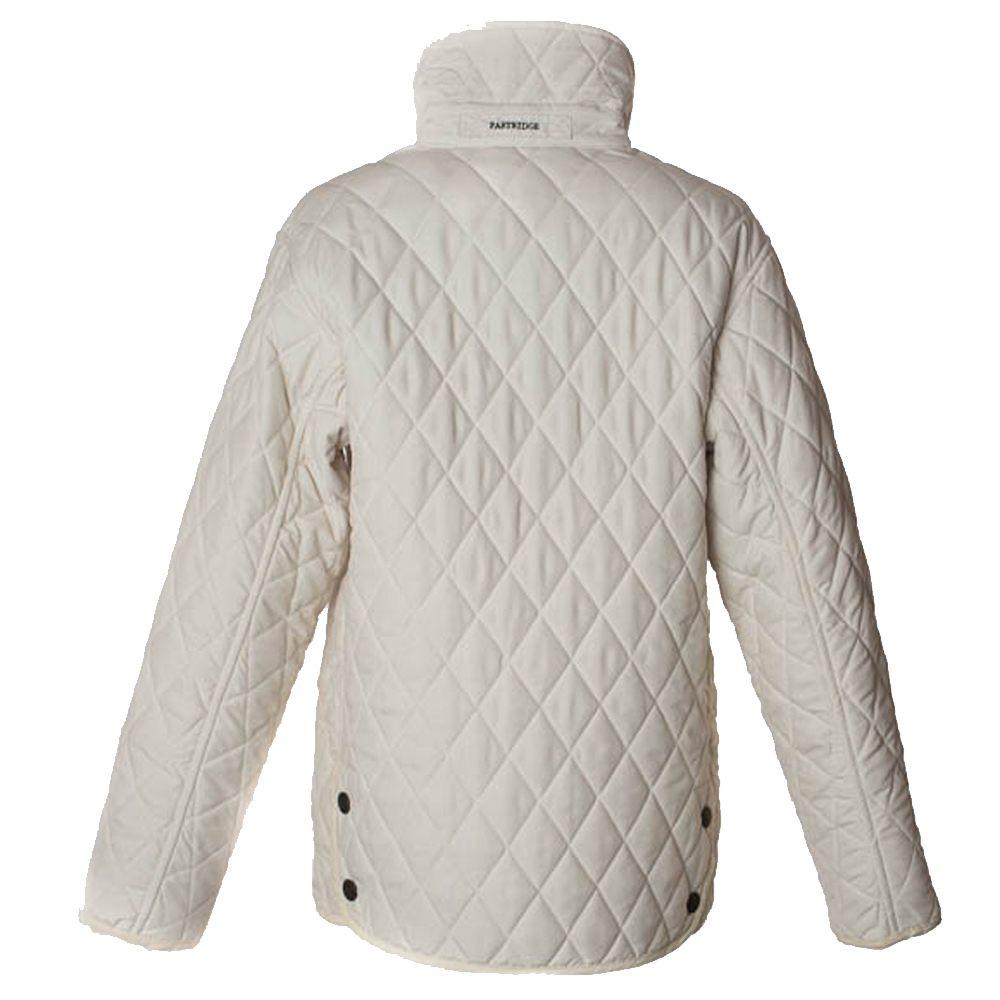 Damesjas Lakeland Quilt white