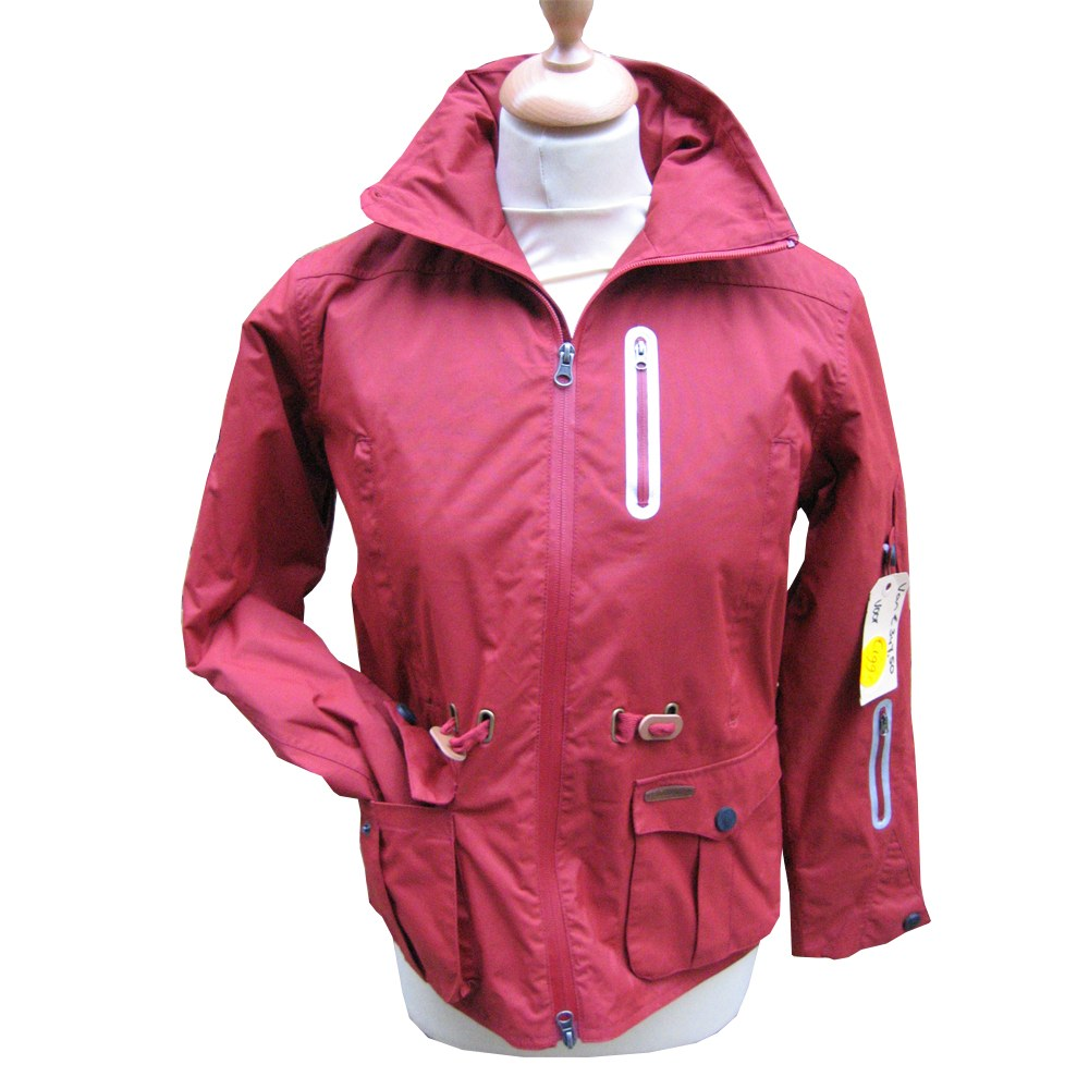 Damesjas ski Waterproof Rood