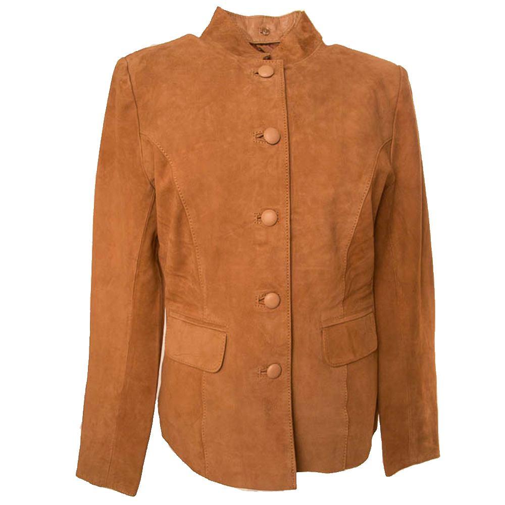 Damesjasje Coat Emily - Mandarin