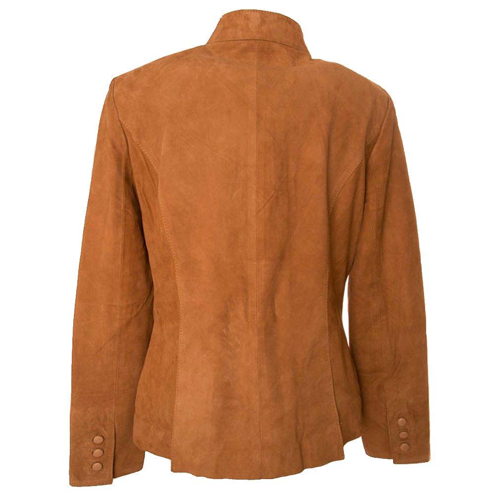 Damesjas Coat Emily - Mandarin