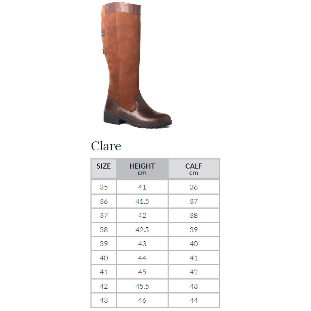 Dameslaars Clare Walnut